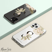 Boho Beach Custom Personalised Monogram Name Mobile Phone Case-Minca Cases
