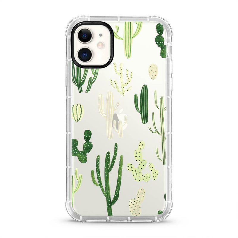 Cactus - 3D Embossed Protective Air Cushion Mobile Phone Case - Minca Cases Australia