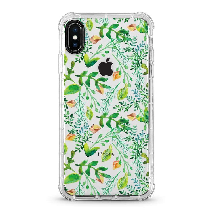 Green Vine - 3D Embossed Protective Air Cushion Mobile Phone Case - Minca Cases Australia
