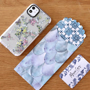 Spring Butterfly - Protective White Bumper Mobile Phone Case