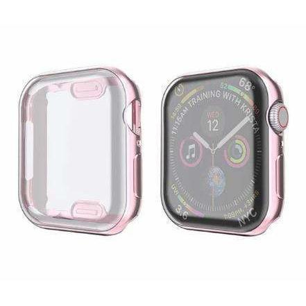 Metallic TPU Screen Protector For Apple Watch-Minca Cases