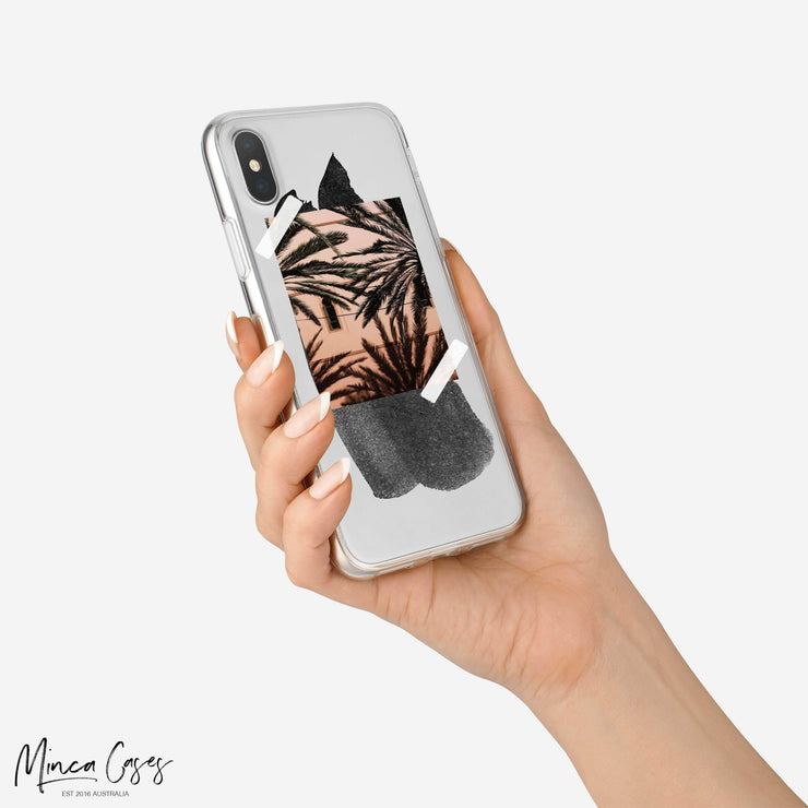 Paint Swatch Photo Upload Custom Personalised Monogram Mobile Phone Case-Minca Cases