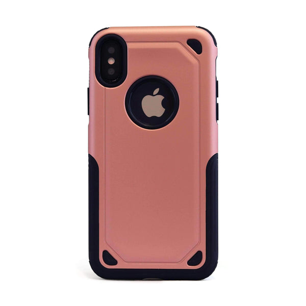 Rose Gold Hybrid Shockproof Mobile Phone Case - Minca Cases Australia