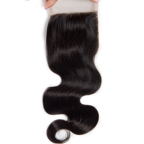 Peruvian Body Wave 4x4 Lace Closure 8-18 inches