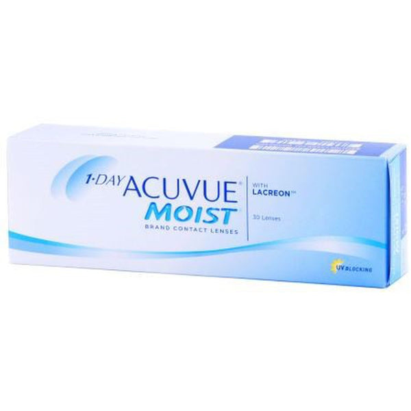 1-DAY ACUVUE MOIST 30-PACK by johnson & johnson