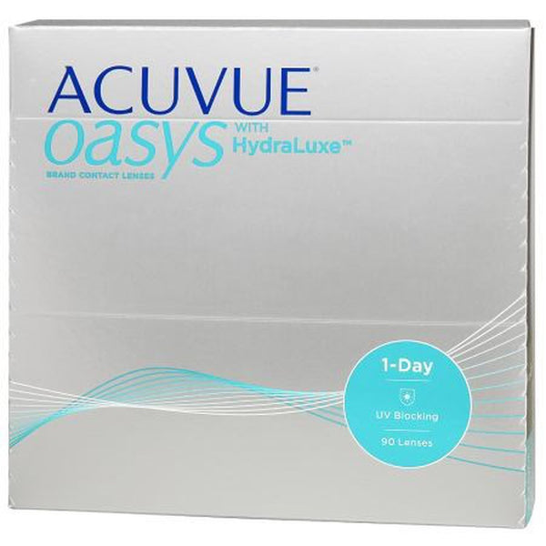 ACUVUE OASYS 1-Day with HydraLuxe by johnson & johnson