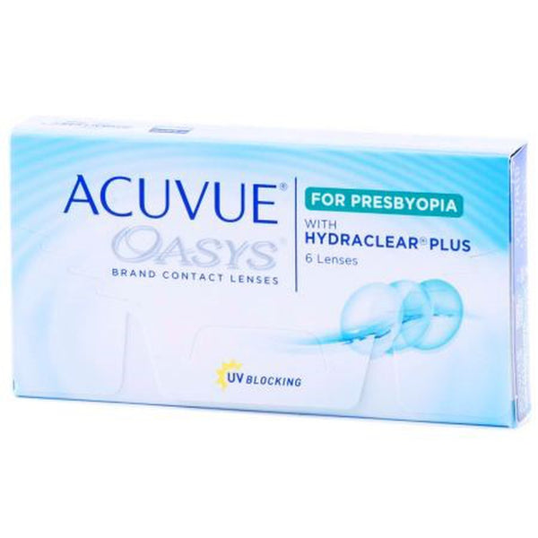 ACUVUE OASYS for PRESBYOPIA by johnson & johnson