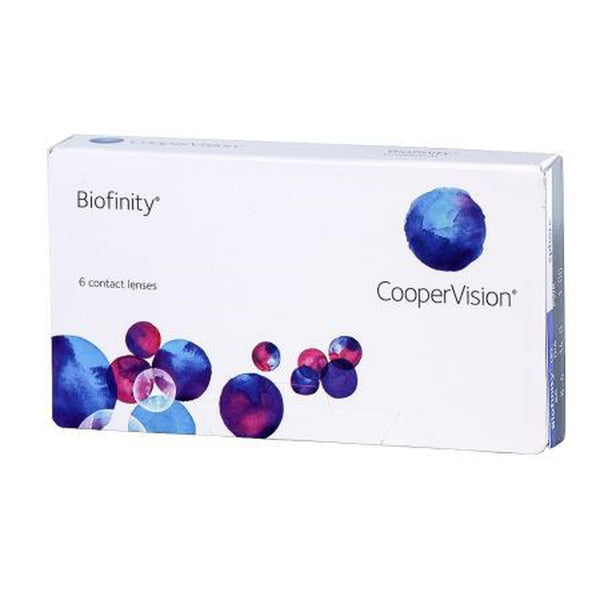 Biofinity monthly replacement contact lenses