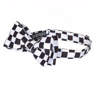 Checkerboard Bow Tie - Angelo Igitego