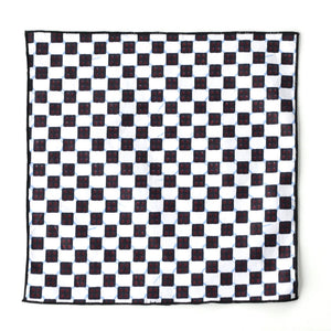 Checkerboard Pocket Square - Angelo Igitego