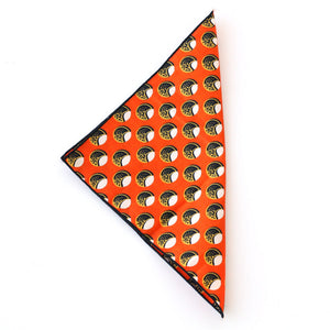 Cracked Nut Pocket Square - Angelo Igitego