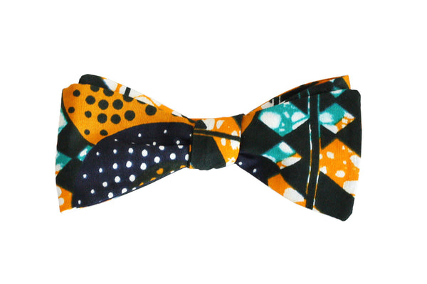 Tiger Melon Bow Tie - Angelo Igitego