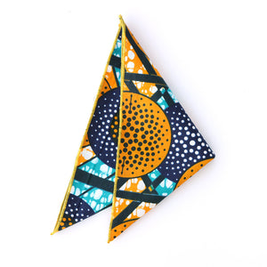 Tiger Melon Pocket Square - Angelo Igitego