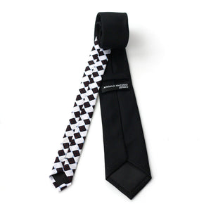Checkerboard Neck Tie - Angelo Igitego