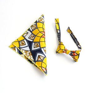 Starburst Pocket Square - Angelo Igitego