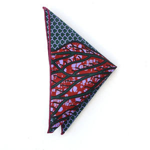 Scales Pocket Square - Angelo Igitego