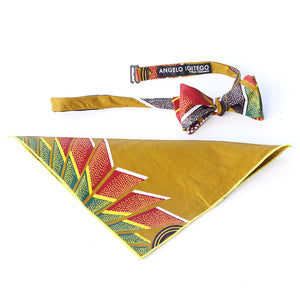 Harvest Pocket Square - Angelo Igitego