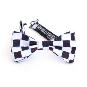 Checkerboard Bow Tie - Kids - Angelo Igitego
