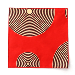 Red Stripe Pocket Square - Angelo Igitego