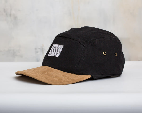 Intertwined 5 panel Cap