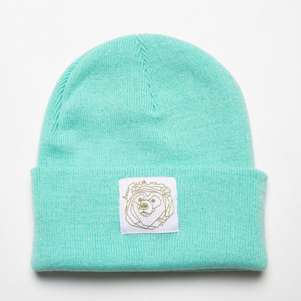 Bear With Me - Mint Beanie