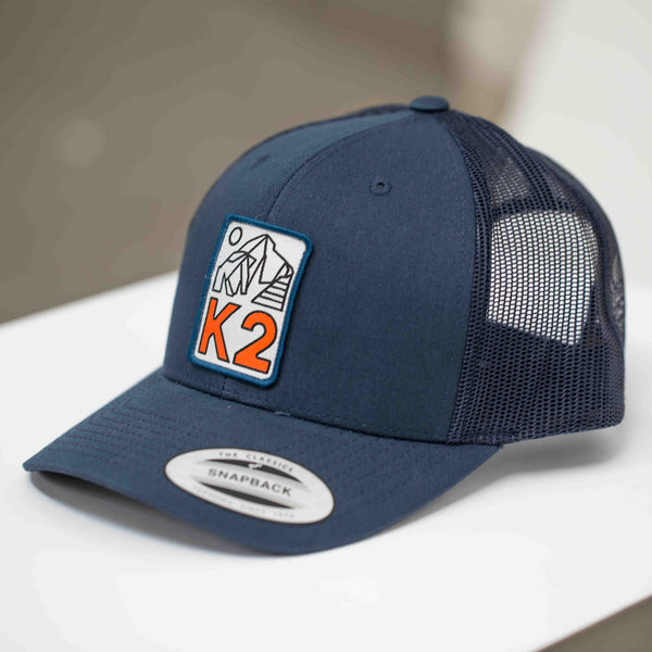 K2 Adventure Trucker Cap - INDIGO
