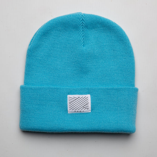 Intertwined -  Sky Blue Beanie