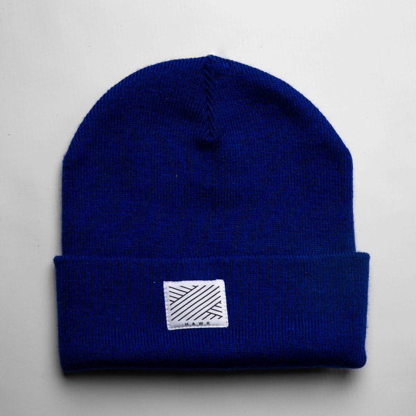 Intertwined - Deep Blue Beanie