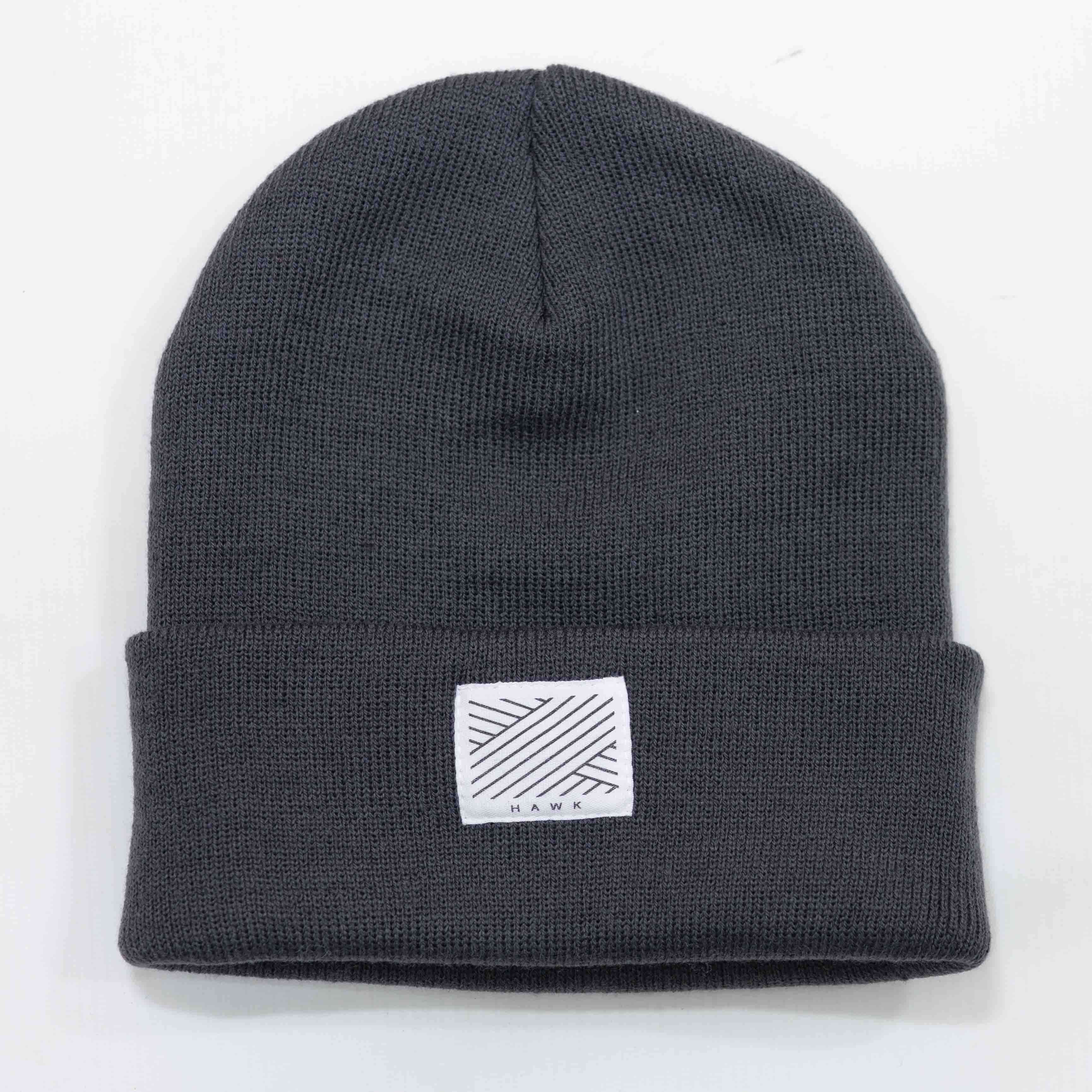 Intertwined - Dark Grey Beanie