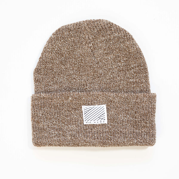 Intertwined - Caramel Beanie