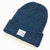 Intertwined Murky Blue Beanie