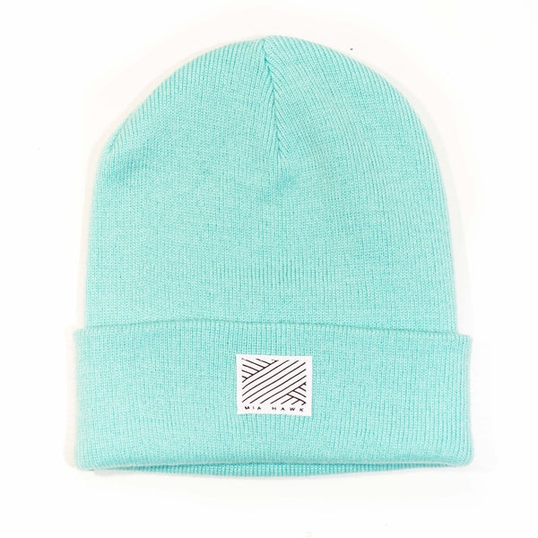 Intertwined - Mint Beanie