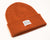 Intertwined Rust Red Beanie