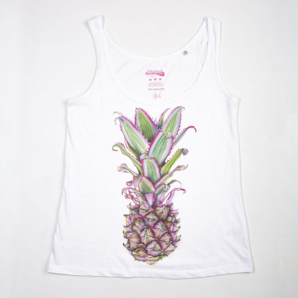 Pink Pineapple Vest for Her