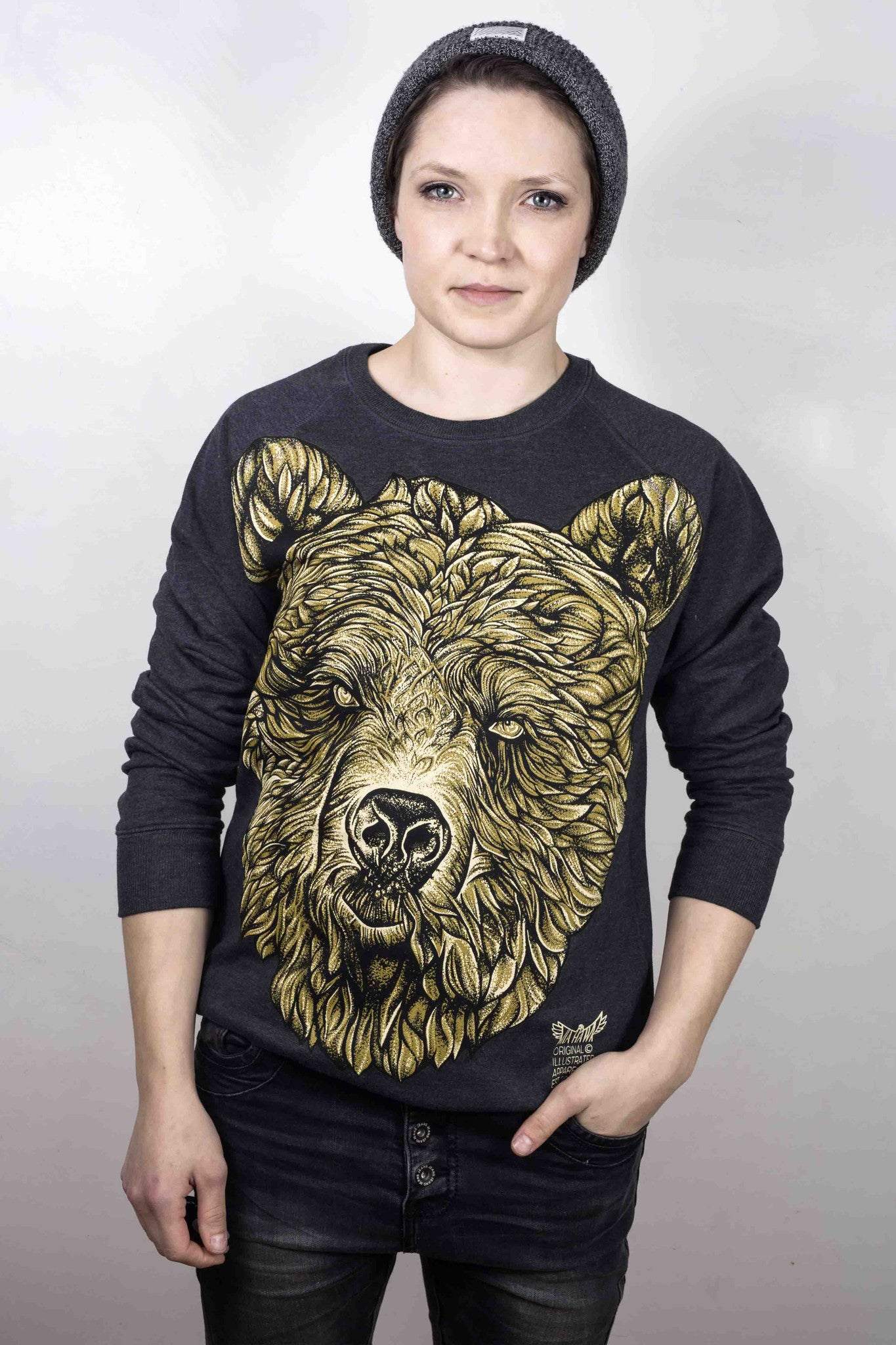 Bear Recycled Sweatshirt