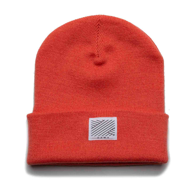 Intertwined beanie - Coral