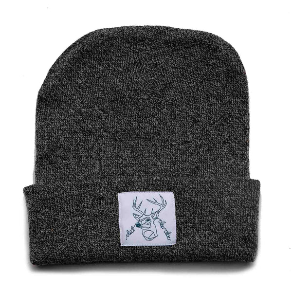 Dat Deer Doe -  Dark Speckled Beanie