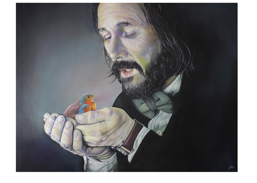 Man Meets Robin Limited Edition Giclee Print