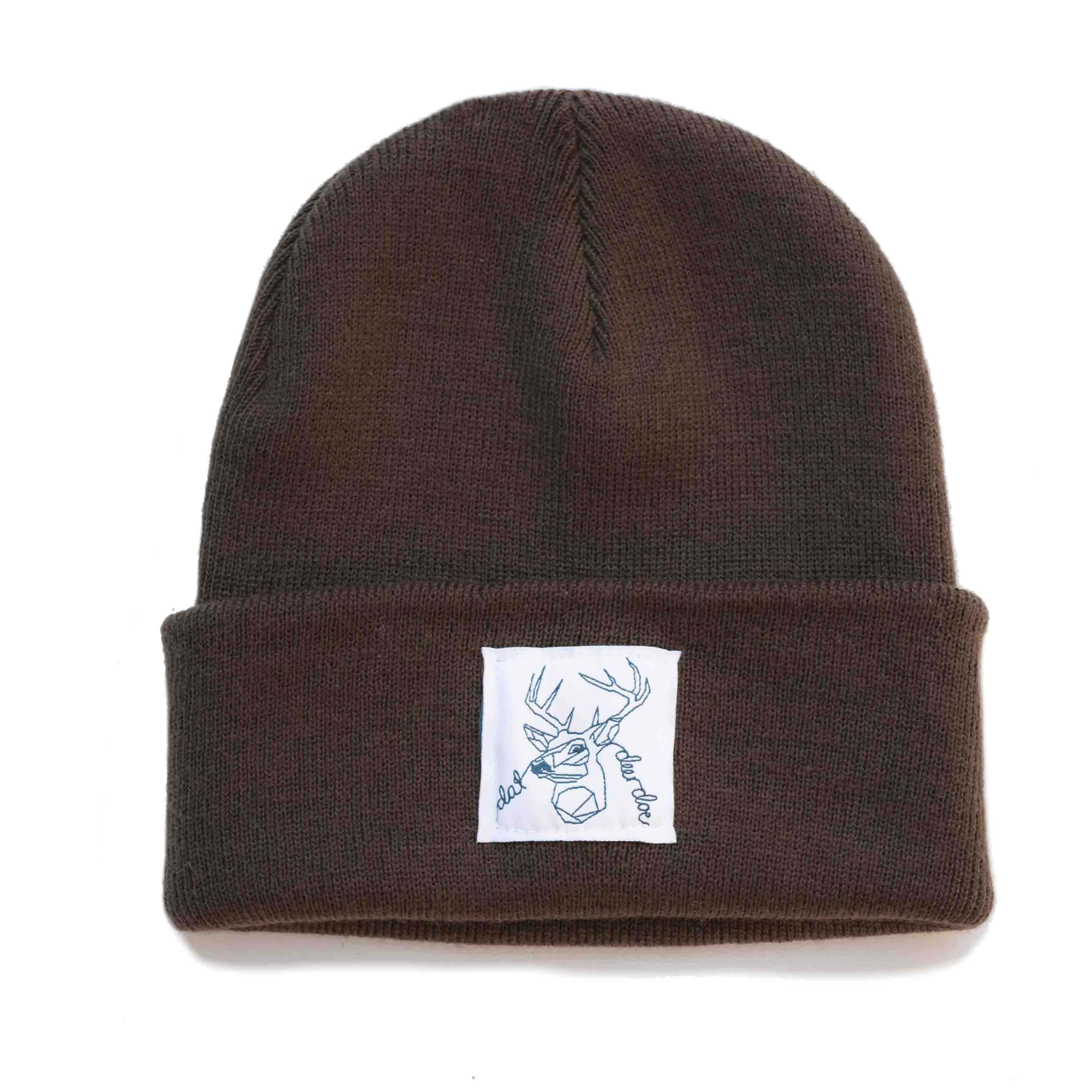 Dat Deer Doe -  Brown Beanie