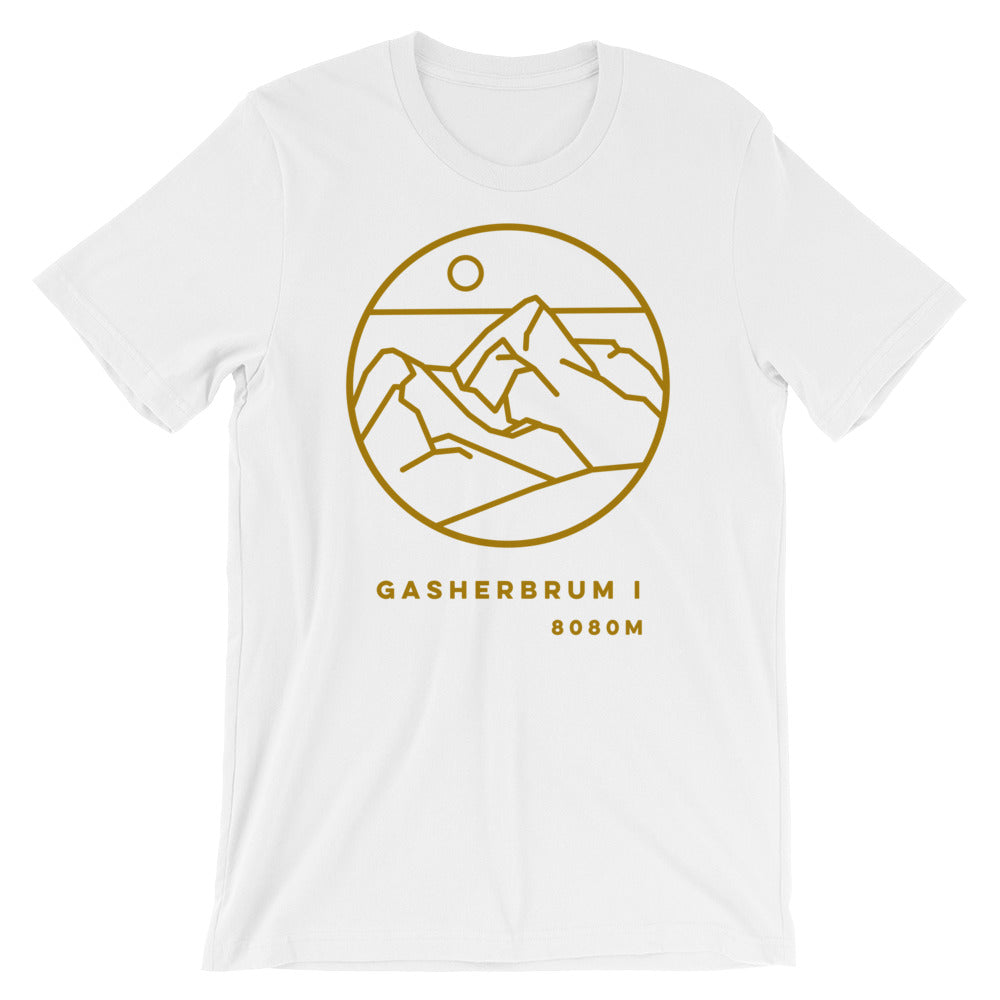 GASHERBRUM 1 mustard Graphic Tee