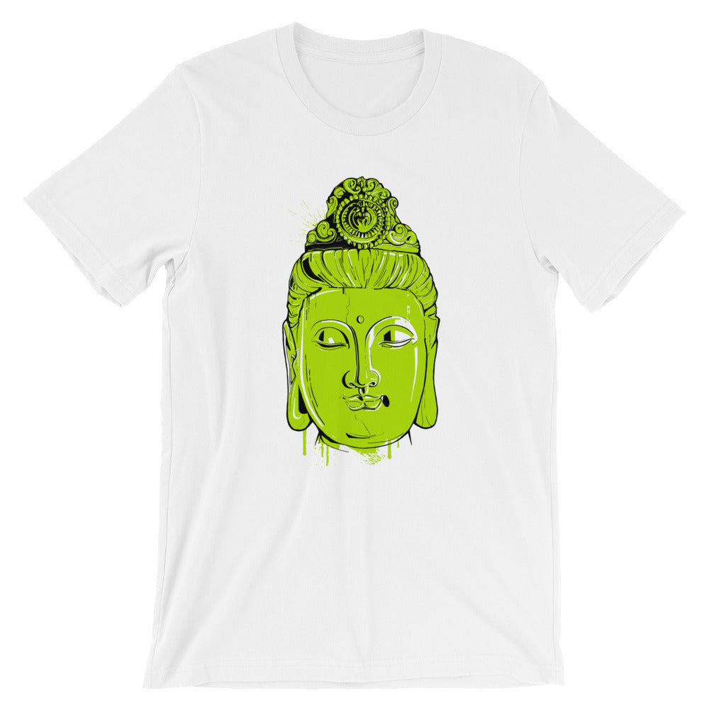Green Buddha Graphic Tee