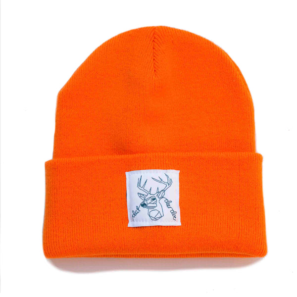 Dat Deer Doe -  Screaming Orange Beanie