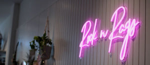 custom neon sign mk neon