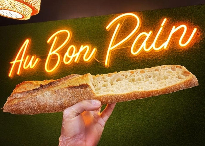 Au bon pain neon sign quotes mk neon