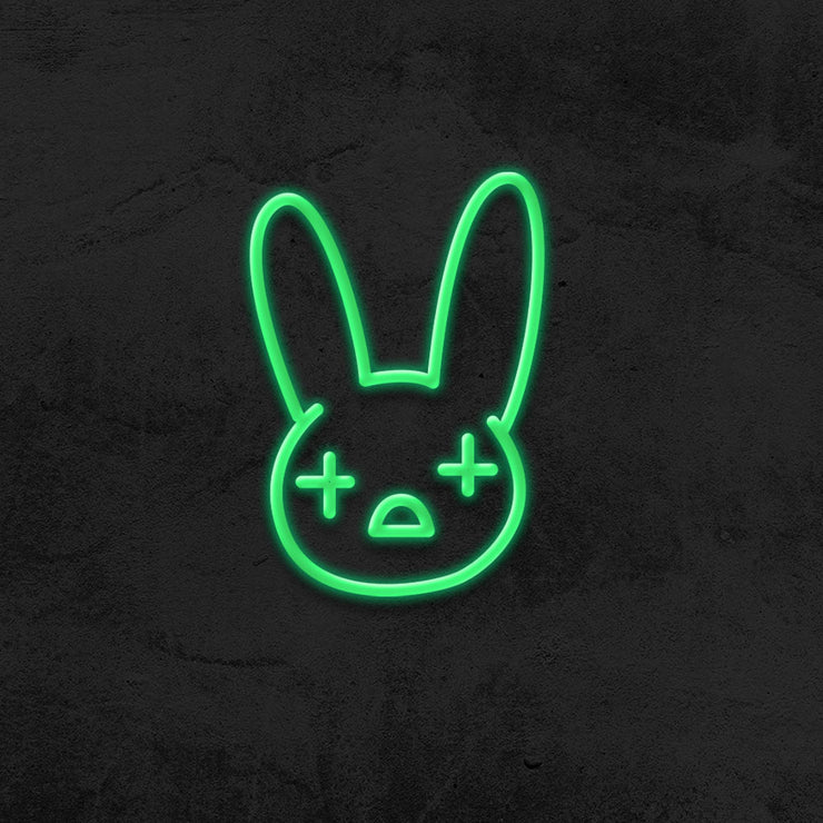 bad bunny neon sign led rapper reggaeton MK NEON