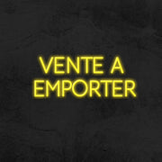 vente a emporter neon sign led mk neon