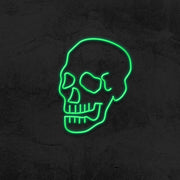skull neon sign led mk neon