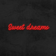 sweet dreams neon sign led bedroom mk neon