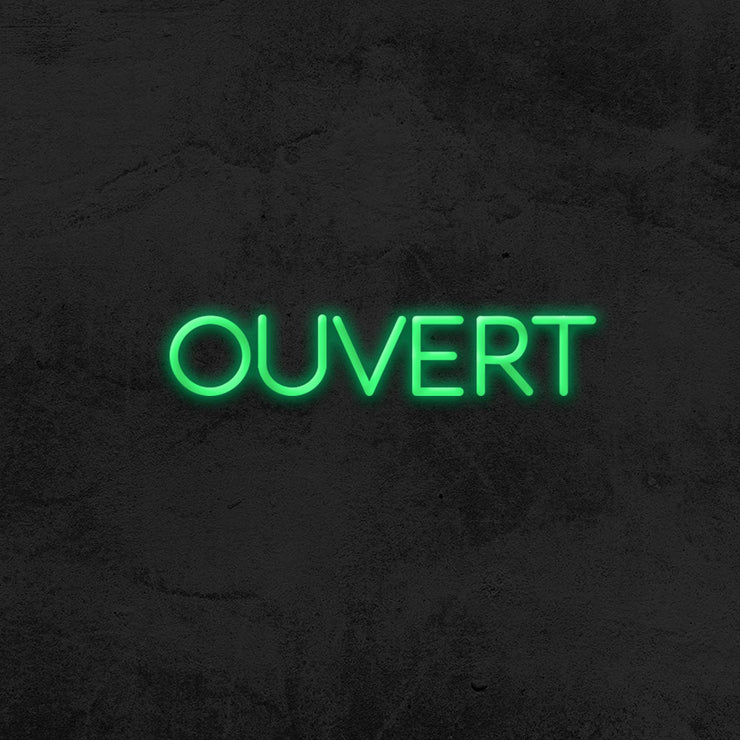 Ouvert - LED Neon Sign