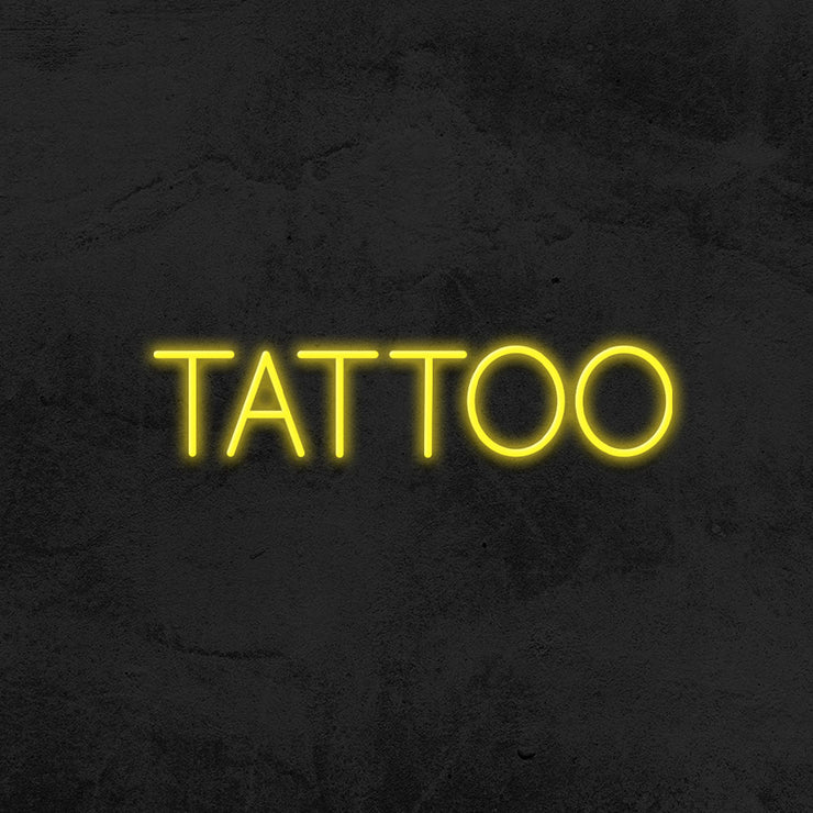 Tattoo neon sign led mk neon